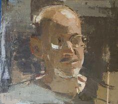 Sangram Majumdar Warren, oil on linen, 16 X 14 in 2008 (private collection)