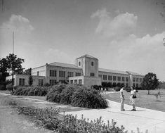 University of Houston, early 1940s. #Houston #History #UniversityofHouston