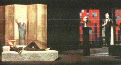 """""""Il giuoco delle parti"""", L. Pirandello, 1965, Regia di Giorgio De Lullo, Scenografia - Costumi di Pier Luigi Pizzi"""