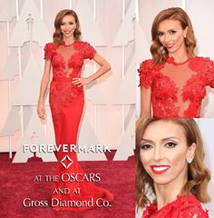 Oscars: Giuliana Rancic wearing Forevermark Diamonds. Available at Gross Diamond Co. #diamonds #oscars #louisvillejewelers