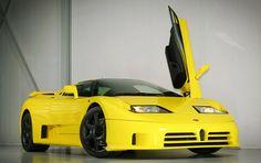 Te koop in eigen land: gloednieuwe Bugatti EB110 SS