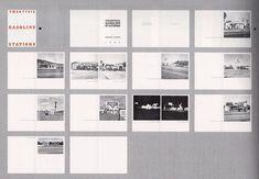 le livre d'artiste en photographie Edward Ruscha : Twenty six gasoline stations