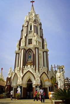 St.Mary's Basilica, Bangalore by viwehei, via Flickr