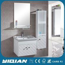 Pequeño blanco de baño de PVC gabinete, la pared del cuarto de baño Ideas