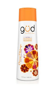 Gud by Burt's Bees Shampoo in Orange Petalooza...one of my new faves, smells DIVINE