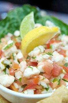 Must make. Shrimp ceviche. light and healthy appetizer or lunch.