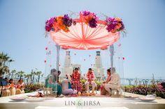 Shawna Yamamoto Event Design Modern Wedding in Huntington Beach, Lucite
