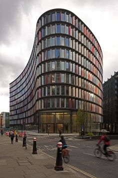 2 New Ludgate, London. Sauerbruch Hutton Architects.