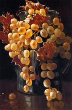 """The Loving Cup ~ Oil on panel, 8""""w x 12""""h, by Edwin Deakin."""