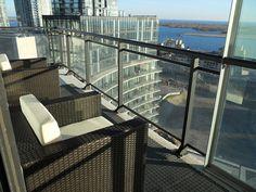 Condo Balcony With Patio Furniture By Velago, Via Flickr