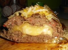 Cheeseburger Meatloaf � Contributed by Stephanie Stone Lamberson     2 lbs. ground beef   1 box Stove Top Stuffing and seasoning packet included (any flavor)   2 eggs    See More......  https://www.facebook.com/BeazellsCajun?sk=messages_inbox=read=id.305278326238897#!/photo.php?fbid=398615826879818=pb.195368863871183.-2207520000.1355253469=3