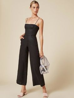100 Pretty Jumpsuits to Wear This Spring - Fashionetter Look Fashion, Girl Fashion, Womens Fashion, Fashion Tag, Summer Outfits, Casual Outfits, Cute Outfits, Jumpsuit Formal Wedding, Style Board
