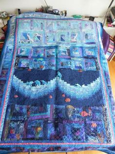 Looking for quilting project inspiration? Check out waves by member Joja.