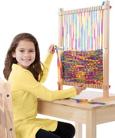 Loving this Melissa & Doug Multi-Craft Weaving Loom on #zulily! #zulilyfinds