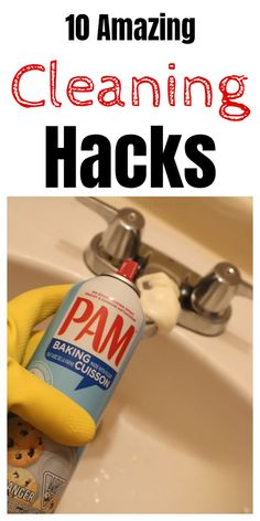 Epic and easy cleaning hacks, tips, and tricks you will find handy. hacks tips and tricks 10 Amazing Cleaning Hacks Household Cleaning Tips, House Cleaning Tips, Diy Cleaning Products, Cleaning Solutions, Cleaning Hacks, Deep Cleaning, Spring Cleaning, Cleaning Routines, Household Cleaners