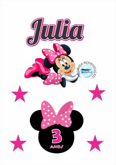 Bolo Do Mickey Mouse, Minnie Mouse Party, Mouse Parties, Mini Mouse, Ely, Scrap, Stickers, Disney Characters, How To Make