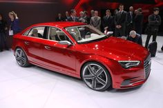 2013 Audi S3 Sportback (Candy Apple Red)