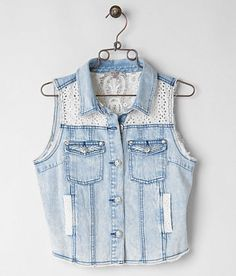 Miss Me Denim Vest - Women's Vests | Buckle