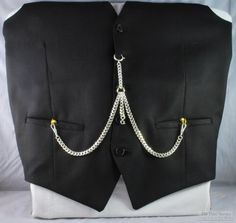 We've recently updated our modern traditional-style pocket watch chains listing, adding more options for chain length, primary findings, and secondary (connector) findings, as well as new and improved photos for all the different custom combinations we offer.  Take a look yourself, or create your own customized chain, by visiting our new listing here: http://www.pmtime.com/product/chain_pocket.html