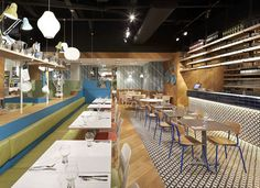 Gundry & Ducker were asked to design ASK Italian in Bluewater.