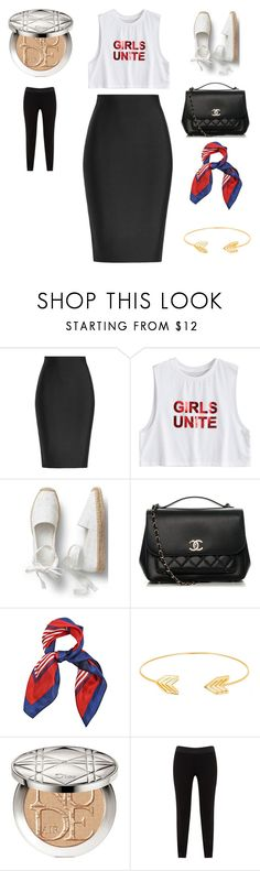 """Sin título #2877"" by bravotamara on Polyvore featuring moda, Roland Mouret, Chanel, Lord & Taylor, Christian Dior y JunaRose"