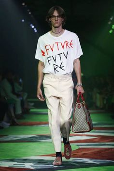 Gucci Menswear Spring Summer 2017 Milan - NOWFASHION