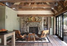 High in the Colorado mountains sits a little cottage, so charmingly executed, with stone walls, hardwood floors and antique pine trusses, you'd think it was out of a fairy tale.