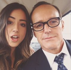 Skye and Coulson - Marvels Agents of Shield