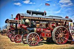 Steam Traction Engine 4 via Etsy