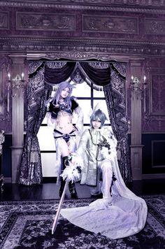【FINAL FANTASY IX】 Photo by Nagi  Kuja…Byakuya Silver Dragon(anthropomorphic image)…Yue Yuzora