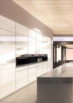 Minimal kitchen, Carla Ridge in Beverly Hills by McClean Design _