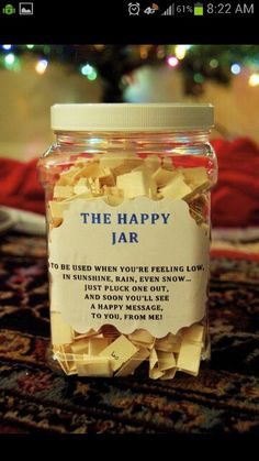 have girls write nice things about each other and put those things in jars.