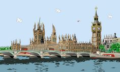 Westminster Waterfront by Dylan Izaak