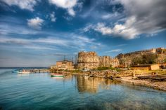 Mytiline Castle by Nejdet Duzen on Oh The Places You'll Go, Places To Travel, Places To Visit, Travel Around The World, Around The Worlds, World Cruise, Cruise Destinations, Greece Travel, Greek Islands