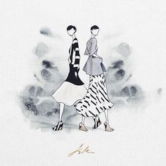 JSK @jaesukkim on Instagram photos SYDNEY/SEOUL BASED DESIGNER / FASHION ILLUSTRATOR /ART DIRECTOR #jskillustration commission... - igbox