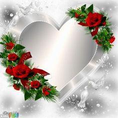 By Artist Maria Elena Lopez. Birthday Photo Frame, Birthday Frames, Birthday Background, Framed Wallpaper, Heart Wallpaper, Love Wallpaper, Rose Frame, Heart Frame, Flower Frame