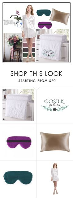 """OOSILK"" by es-primavera ❤ liked on Polyvore featuring interior, interiors, interior design, home, home decor and interior decorating"