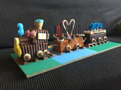 Pastel tren