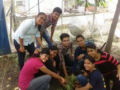 11) Planting trees with my friends ^_^