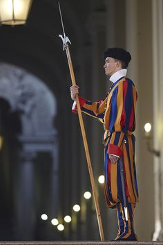 Swiss Guard at Vatican, Rome
