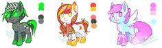 Pony Adopts Auction 03 [CLOSED] by TanukiAdopts.deviantart.com on @DeviantArt