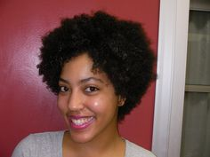 India came in for a Natural Hair Shaping
