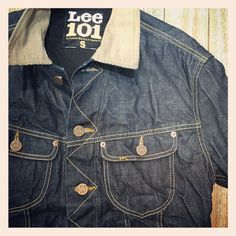 La carica dei 101 #lee #101 #jeans #community #denim #jacket #outlet #vertemate