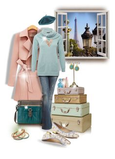 """Streetlamp in Paris"" by maison-de-forgeron ❤ liked on Polyvore featuring Charlotte Tilbury, The Sak, Marc Jacobs, BLANK, M&Co, Wet Seal, NAKAMOL, Armani Exchange and Charlotte Olympia"