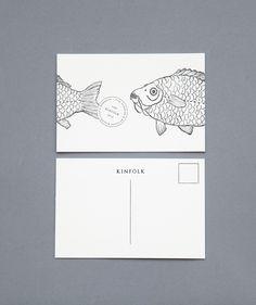 Amanda Jane Jones for Kinfolk Illustration by Anja Mulder Printer by Type A Press