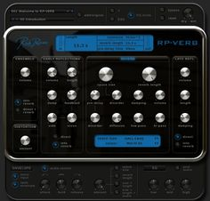 Rob Papen RP-Verb - When it comes to pristine, authentic reverb, it's the algorithm that counts. RP-Verb is the fruit of Rob Papen's decades-long study of reverb and endless hours of exploring, testing, and tweaking by Rob and Jon Ayres. The result is exactly what you would expect: a stunning, musical reverb that brings unmatched dimension and fullness to your mixes