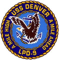 USS Denver (LPD-9) ship crest