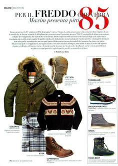 #Lumberjack presenta Ranger, la nuova scarpa per l'uomo urban country sarà una delle protagoniste della collezione FW 14/15.     Visto su #Maxim