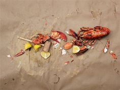 Marcus Nilsson Photography: Personal Work. Outdoor summer feast on the beach #seafood #summer
