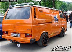 Orange VW T3 Tuning